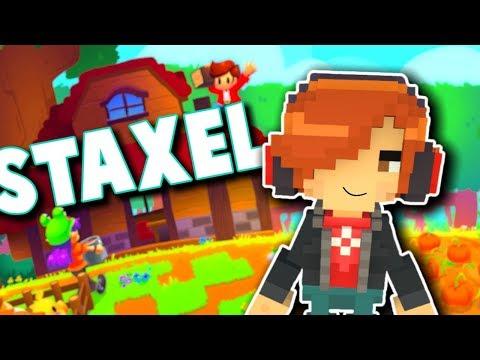 Staxel - FARM, BUILD, LOVE! - 3D Minecraft/Stardew Valley Hybrid Early Gameplay