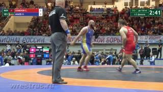 130 кг. Сергей Семенов - Лом-Али Акаев. Полуфинал.