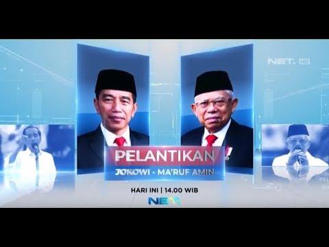 [FULL LIVE STREAMING] Pelantikan Jokowi-Ma'ruf Sebagai Presiden dan Wakil Presiden 2019-2024