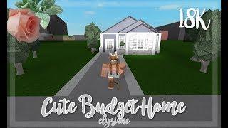ROBLOX | Bloxburg: Cute Budget Home 18K