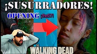 OFICIAL OPENING TRAILER Y SNEAK PEEK 9X07 THE WALKING DEAD | HYPER HALCON