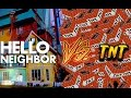 watch he video of Minecraft: Hello Neighbor vs The Flash - 1 MILLION TNT