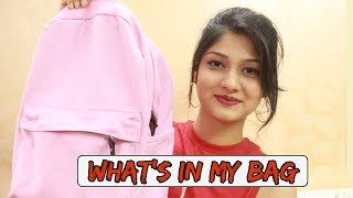 What's In My Bag ?? | Manasi Mau