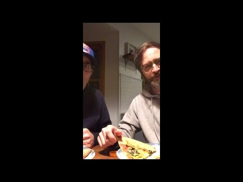 PIZZA WITH MARK  Matt Gourley Periscope archive from 19th Jan 2016