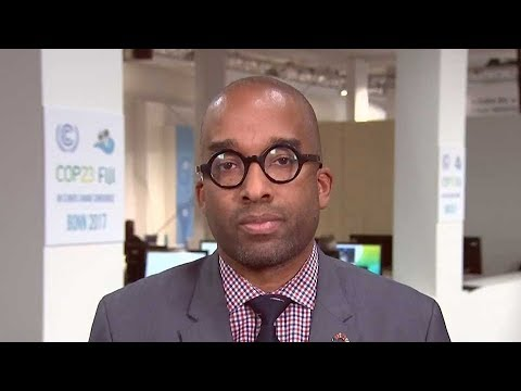 Strategist Michael K. Dorsey talks about the UN climate conference in Bonn, Germany