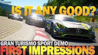 Gran Turismo Sport - My impressions as a simracer