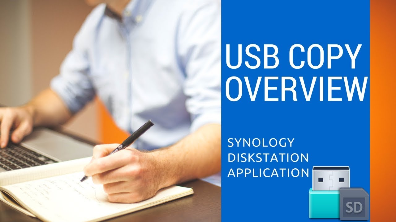 Overview of USB Copy for Synology