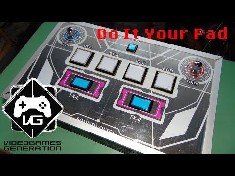 Come costruire il pad del SoundVoltex SDVX - Do It Your Pad - Tutorial - DIY