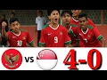 Hasil Timnas Indonesia U 16 vs Singapura 4 0 All Goals Highlights 08 06 2017