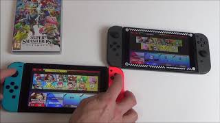 Nintendo Switch : Local Wireless Play on Super Smash Bros. Ultimate