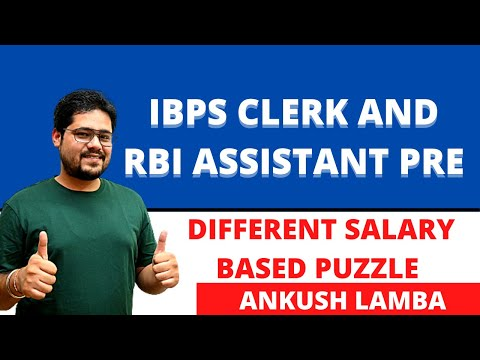 DIFFERENT SALARY BASED PUZZLE || HOW TO SOLVE EASILY || BEST TIPS TRICKS AND APPROACH
