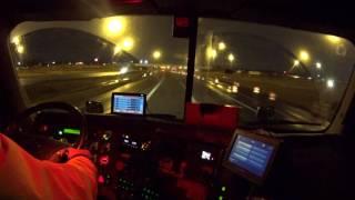 3242 racing to the Pilot truck stop. Columbus, Ohio