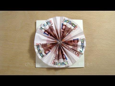 Geldgeschenke originell verpacken Sonne basteln  Geld  Doovi