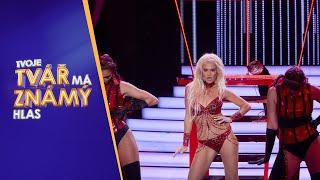 Andrea Kalousová jako Britney Spears  | Tvoje tvář má známý hlas