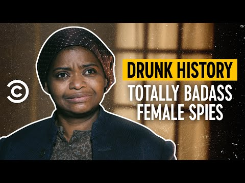 Totally Badass Female Spies - Drunk History