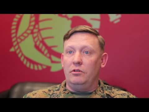 An Interview with a Marine Recruiter