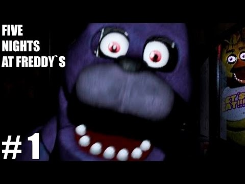 FIVE NIGHTS AT FREDDY'S - UMA NOITE... TENSA - Parte 1