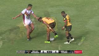 Highlights: Country Under-23's v PNG Digicel Cup Representative Team