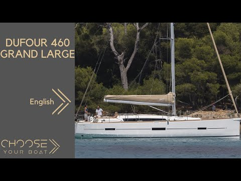 DUFOUR 460 Grand Large: Guided Tour Video (in English)