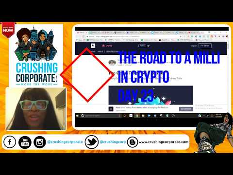 Road to a Milli in Crypto Day 23