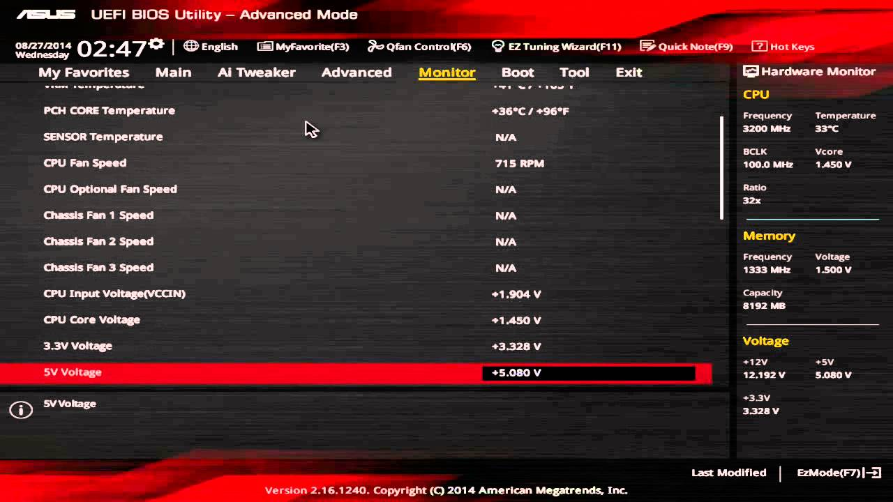ASUS Z97Pro Gamer General CPU OC Guide Overclocking