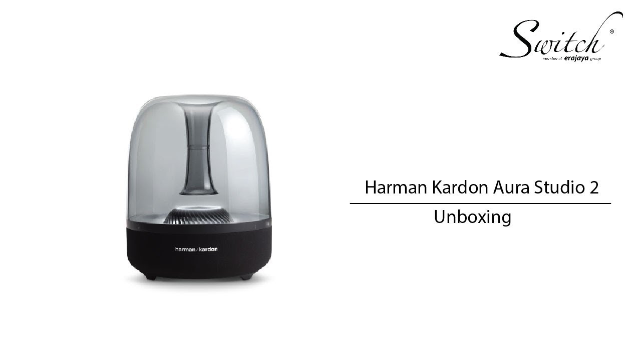 harman kardon aura studio 2 unboxing youtube. Black Bedroom Furniture Sets. Home Design Ideas