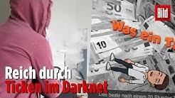 David (21) aus Bremen verkaufte Drogen im Darknet