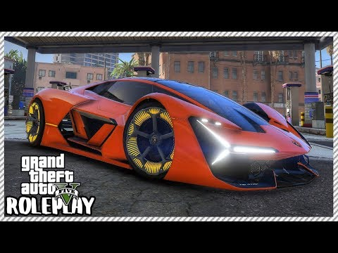 GTA 5 Roleplay - 'INCREDIBLE' Self Healing Lamborghini Terzo