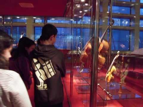 Visita al Museu de la Música - 2011