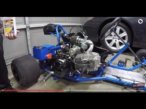 125cc go kart engine swap and test ride youtube. Black Bedroom Furniture Sets. Home Design Ideas