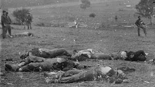 3d stereoscopic photographs of dead soldiers after the battle of gettysburg 1863