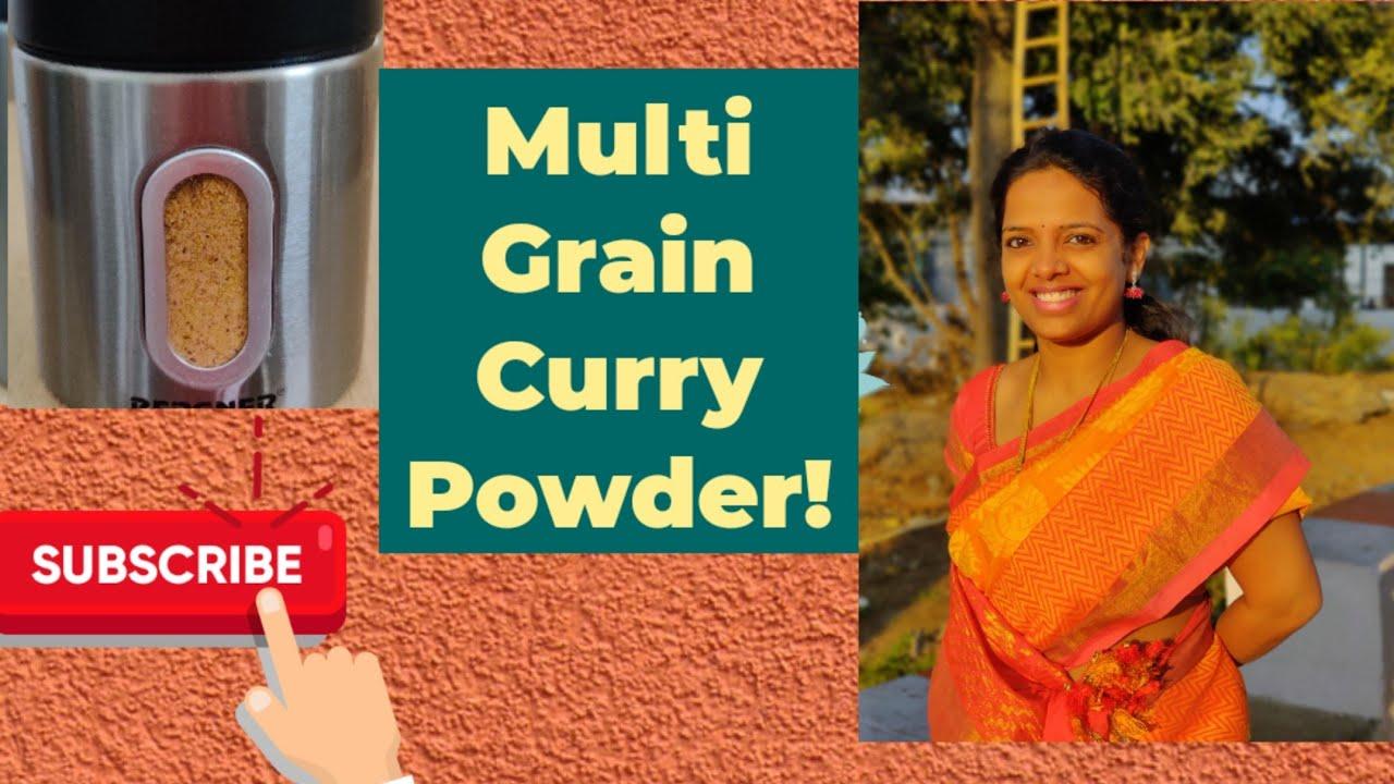 Bhaath powder Receipe| Multi Grain podi| Curry powder | Tasty & Healthy