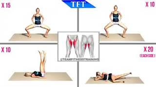 3 Minute Inner Thigh Burn - Team Fitness Training