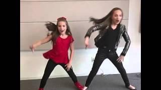 Maddie & Mackenzie Ziegler Hit That NaeNae !
