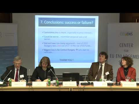 The Future of the EU: First Panel