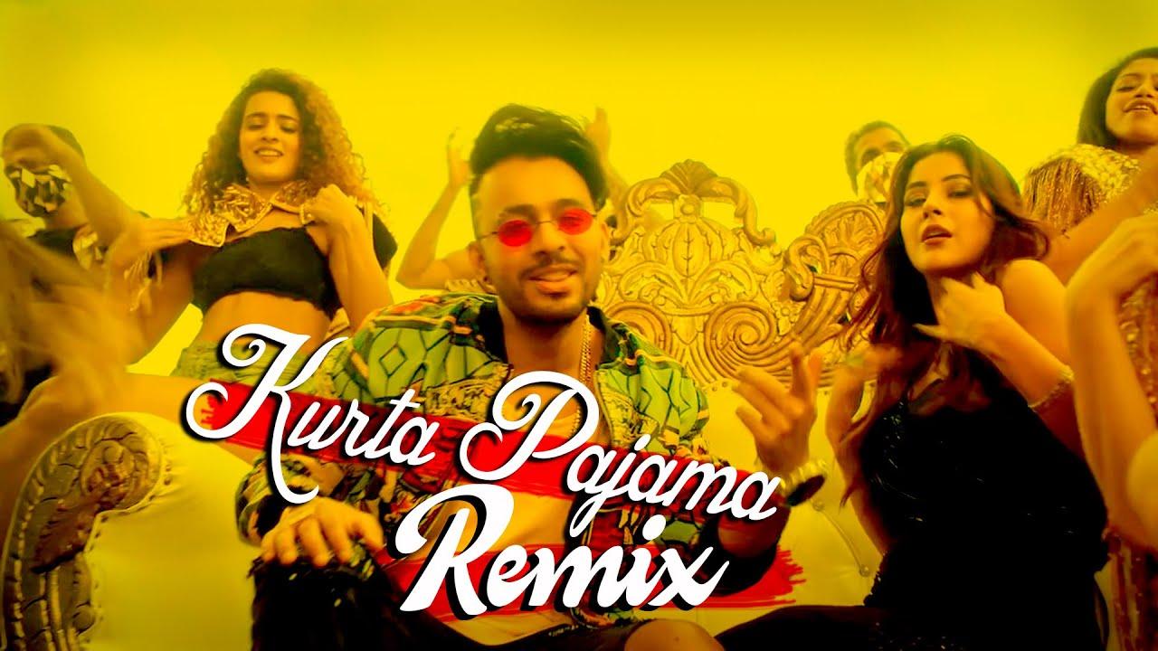 Kurta Pajama Remix | Tony Kakkar ft. Shehnaaz Gill | Latest Punjabi Song 2020 | Sajjad Khan Visual