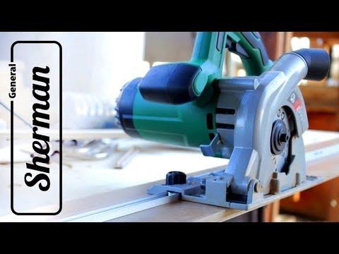 Направляющая шина для циркулярной пилы быстро и просто