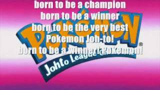 Pokemon Johto Champions Theme Song (Season 4)