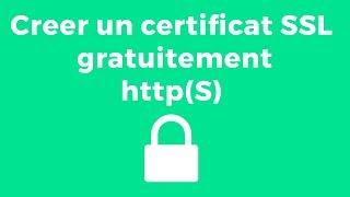Créer un certificat SSL gratuit HTTPS  (GoDaddy)