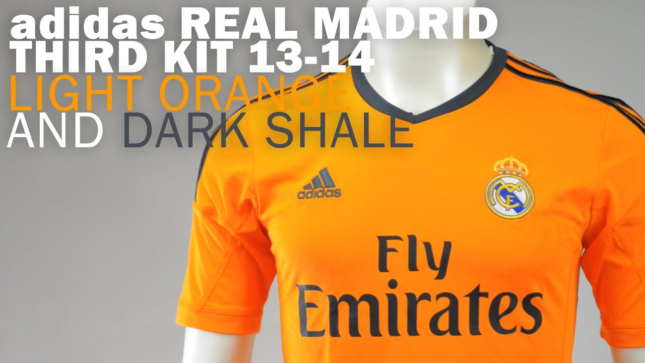 a7f30971190 adidas Real Madrid 3rd Jersey 2013-2014 unboxing - YouTube