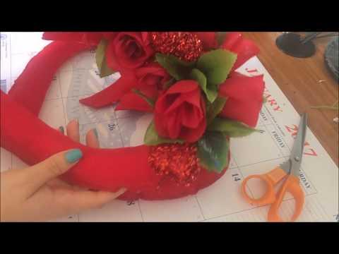 DIY:Decoracion para San Valentin de Corazones.