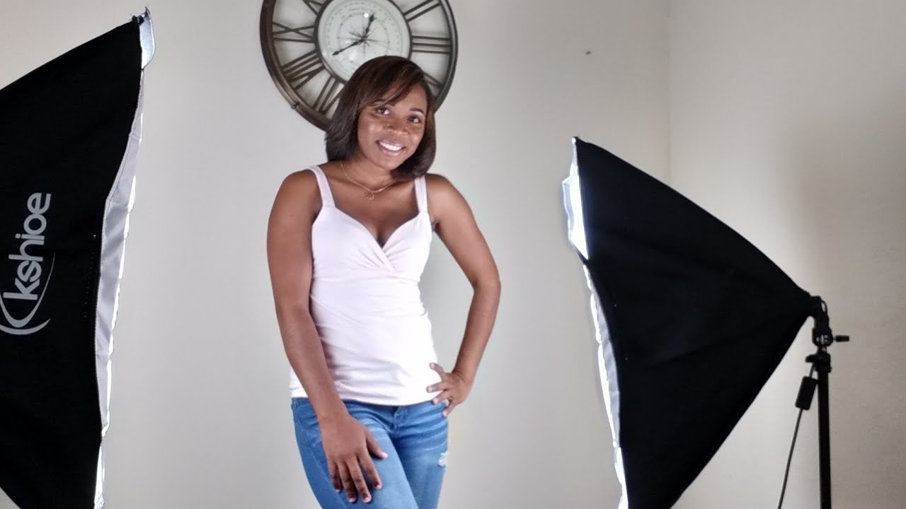 kshioe photography softbox lighting kit