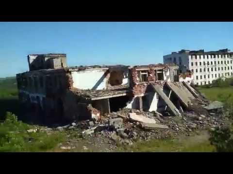 Заброшенный военный городок.   п. Вьюжный ( часть 2)
