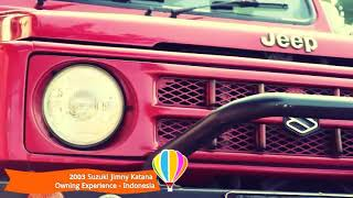 Video Suzuki Jimny Katana 2003 Owning Experience Indonesia download MP3, 3GP, MP4, WEBM, AVI, FLV September 2018