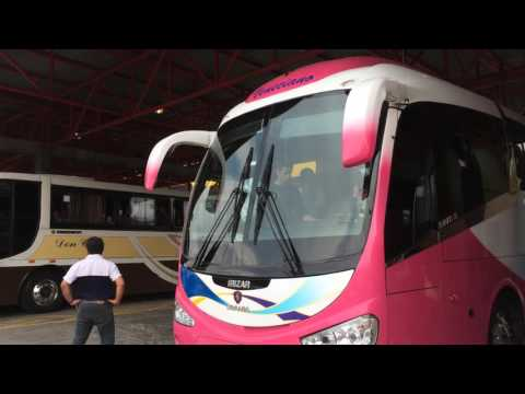 Bus from San Jose to Monteverde, Costa Rica Travel