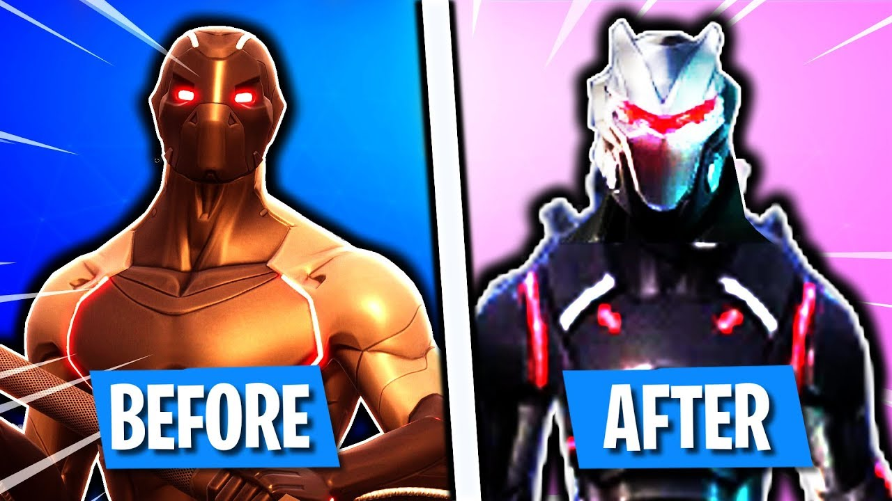 New How To Upgrade Skins In Fortnite How To Upgrade Omega Skin