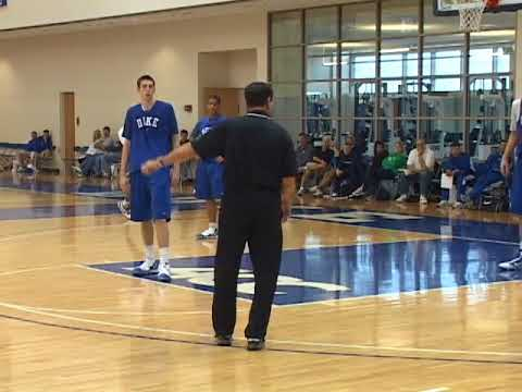 5-on-5 Practice Scrimmage Featuring Coach K and Duke ...