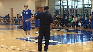 5-on-5 Practice Scrimmage Featuring Coach K and Duke Basketball!