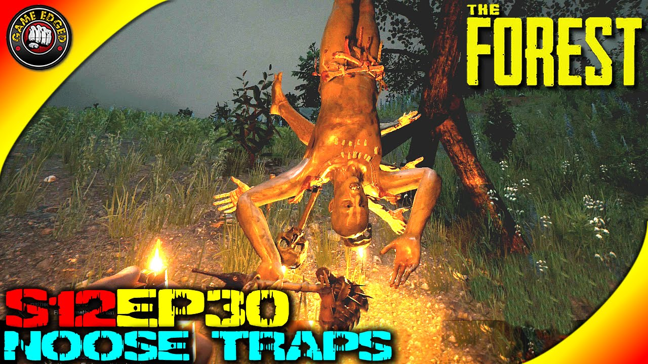 The Forest Gameplay - Noose Traps, Tall Grey Cannibals, Skull ...