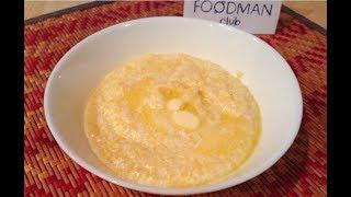 Молочная кукурузная каша в мультиварке: рецепт от Foodman.club